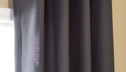 Charcoal Grommet Cotenza Curtain Panel (Item Code: CZCH-CTZ12-GR)