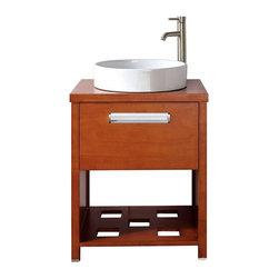 Avanity Cosmo Chestnut Bathroom Vanity Combo 24 x 19 x 33 - Manufacturer