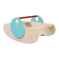CedarWorks - Playroom Rocker - Cold outside today? We have a solution. This sturdy indoor rocker allows kids to face one another while rocking away that bottled up energy. Assembly is required.