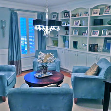 Traditional Family Room South Shore Decorating