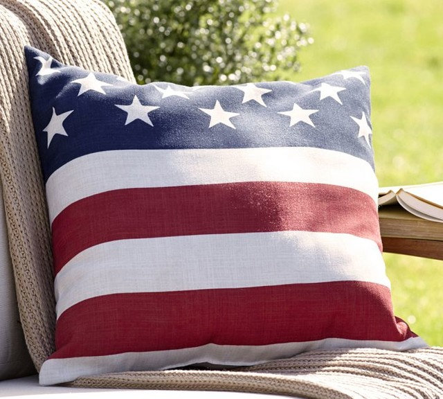 Traditional Outdoor Cushions And Pillows by Pottery Barn