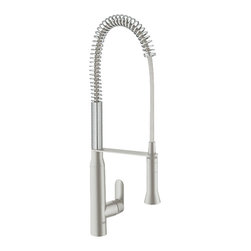 Grohe - Grohe Semi Pro kitchen faucet , Supersteel - K7