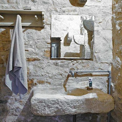 Bathroom Sinks Antique Limestone and Marble (Mediterranean style) - Image by 'Ancient Surfaces'