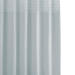 Smock Pleat Shower Curtain