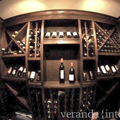 contemporary wine cellar by Veranda Estate Homes & Interiors