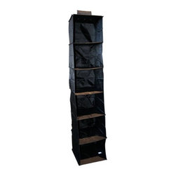 It's A Keeper 6 Shelf Black Sweater Organizer - *It's A Keeper 6 Shelf Black Sweater Organizer.