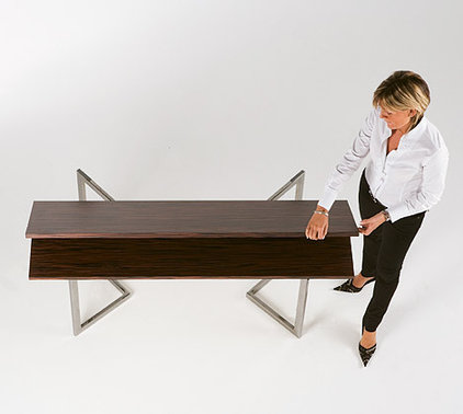 5 instant dining tables - Slim folding dining table ...