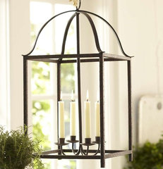 traditional chandeliers by Pottery Barn
