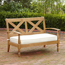 Traditional Outdoor Benches by Cost Plus World Market