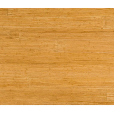 "Strand Natural Bamboo Flooring - Our natural strand woven flooring is not stained -- it is the same natural blond color all the way through each plank. It's also available in 5"" Wide Planks!"