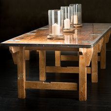 Eclectic Dining Tables by Watershed Union