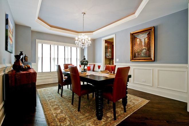 Traditional Dining Room by Oakley Home Builders
