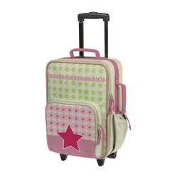 Lassig Kids Mini Rolling Trolley Bag - Starlight Magenta