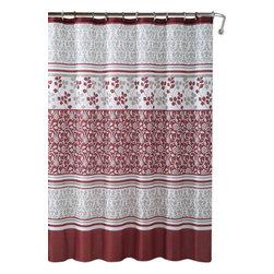 "Lyon Embossed Microfiber Shower Curtain- 72""x 72"" - Lyon Embossed Microfiber Shower Curtain- 72""x 72"""