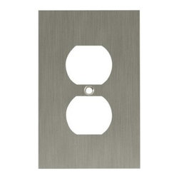 Liberty Hardware - Liberty Hardware 64930 Concave WP Collection 3.15 Inch Switch Plate - Satin Nick - A simple change can make a huge impact on the look and feel of any room. Change out your old wall plates and give any room a brand new feel. Experience the look of a quality Liberty Hardware wall plate.. Width - 3.15 Inch,Height - 4.9 Inch,Projection - 0.4 Inch,Finish - Satin Nickel,Weight - 0.33 Lbs