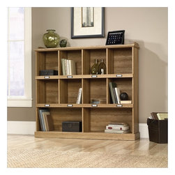 Sauder - Sauder Barrister Lane Bookcase in Scribed Oak Finish - Sauder - Bookcases - 414724 -