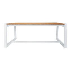 Mazzamiz Baia Dining Tables - About the Mazzamiz Aluminum Collection: