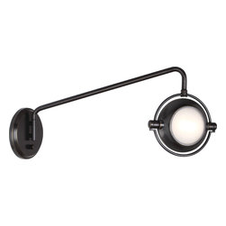 Robert Abbey - Iris Wall Swinger - It might not have a place on the walk of fame yet, but this hinged lamp is still a star. Inspired by the vintage industrial chic of old Hollywood, it gives you flattering lighting along with distinctive design in the office or den.