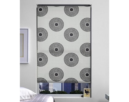 Contemporary Roller Blinds by The Shade Store