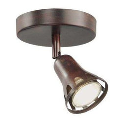 Trans Globe Lighting - Trans Globe Lighting W-491 ROB Track Light In Rubbed Oil Bronze - Part Number: W-491 ROB