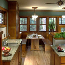 Traditional Kitchen by Raintree Homes