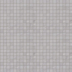 "Marca Corona - Deluxe Grey Natural 1"" x 1"" Mosaic - Sold by the Piece"
