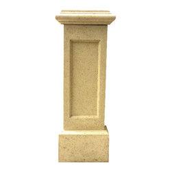 Orzuna - Pilaster 16x48 - Precast concrete Pilaster Made of (FGRC) Fiber Glass Reinforce Concrete