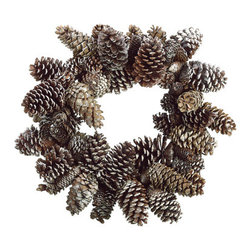 Silk Plants Direct - Silk Plants Direct Sugar Pine Cone Wreath (Pack of 1) - Pack of 1. Silk Plants Direct specializes in manufacturing, design and supply of the most life-like, premium quality artificial plants, trees, flowers, arrangements, topiaries and containers for home, office and commercial use. Our Sugar Pine Cone Wreath includes the following: