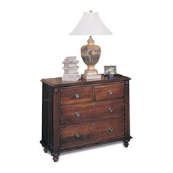 Durham Furniture - Durham Furniture Savile Row Bedside Chest in Victorian Mahogany - Durham Furniture has been making solid wood furniture of the highest quality and enduring value since 1899. Our proud legacy of quality, integrity and dependability places us among North America&rsquos premier manufacturers of fine furniture.