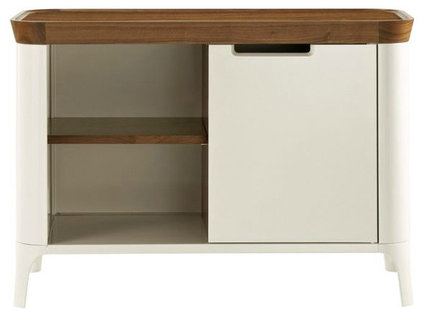 modern bookcases cabinets and computer armoires by Design Within Reach