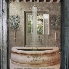mediterranean bathtubs by Ancient Surfaces