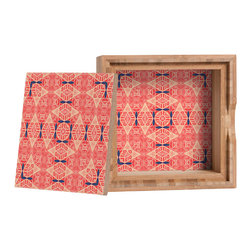 DENY Designs - Ballack Art House Broekie Lace Storage Box - Love yourself a knickknack or two (or three)? Well, then this is the box for you! The Amber Bamboo wooden Storage Box is available in two sizes with a printed exterior lid and interior bottom. So, you can still be a collector of sorts, but now you've got an organized home for it all. 100% sustainable, eco-friendly flat grain amber bamboo wood box with printed glossy exterior lid and interior bottom. Custom made in the USA for every order.