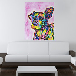 My Wonderful Walls - Keen Dog Wall Sticker - Decal, X-Large - Keen Dog graphic by Dean Russo