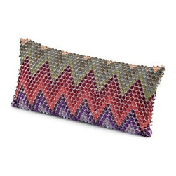 Missoni Home - Missoni Home | Naciria Pillow 12x24 - Design by Rosita Missoni, 2012.