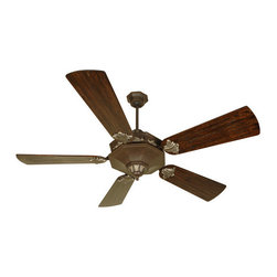 Craftmade - Craftmade Beaumont Beaumont Indoor Ceiling Fan with Included Remote Control and - Beaumont Indoor Ceiling Fan with Included Remote Control and Custom Blade OptionsThe Craftmade Beaumont with guilded gold-leaf charm accents the room when this fan is the centerpieceFeatures