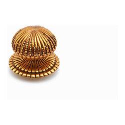 """Schaub & Company - Knob - Paris Brass - 1 1/2"""" Dia (SCH-969L-PAR) - Knob, Paris Brass, 1 1/2"""" dia"""