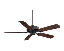 Savoy House - Savoy House Lancer Ceiling Fan in English Bronze - Savoy House Lancer Model SV-52-SGO-5WA-13 in English Bronze with Walnut Finished Blades.