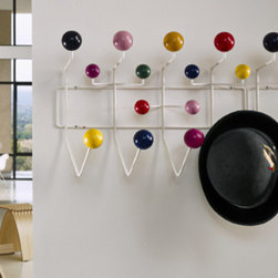 Eames Hang-It-All - This colorful piece of classic Eames provides a good way for kids to learn to the good habit of hanging up their clothes.