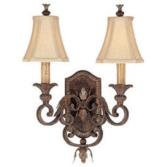 Capital Lighting C1817DS438 Grandview Multi Bulb Wall Sconce