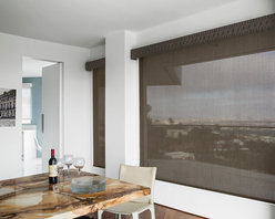 Smith & Noble Solar Roller Shades - Spend your time indoors comfortably with our fade-free Solar Shades. This tastefully minimalistic design reduces glare and heat by diffusing bright sunlight in your home's most sun-drenched spaces. Solar Shades are shipped in 5 business days. Starting at $87