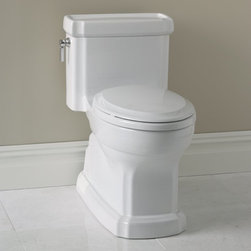 Toto Guinevere Toilet - I tend to prefer toilets that have a little more detail in their design, even in modern bathrooms. If it's going to be out in the open, it should have nice lines.