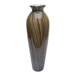 Vita V Home Gaho 18-in. Vase - About Vita V HomeLocated in Elk Grove Village, Illinois, Vita V Home is dedicated to bringing the world's best home decor and accessories to you. Spanning contemporary, transitional, and traditional styles in everything from hand-blown glass to carved wood to cast resin, this incredible collection is ready to add to any space.