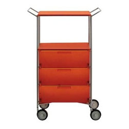 Kartell - Mobil 3 Drawer and Shelf - Mobil 3 Drawer and Shelf