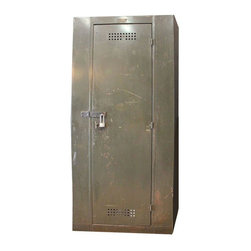 Pre-owned Vintage Industrial Berloy Factory Cabinet Locker - A vintage ...