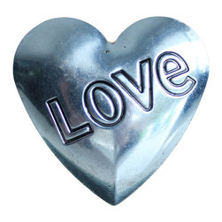 DaRosa Creations - Heart Drawer Knobs Knobs With Love - Heart Drawer Knobs - Decorative Knobs with LOVE