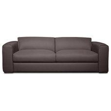 Modern Sofas Lenox Dark Grey 3 Seat Sofa