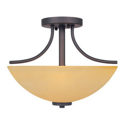 Marbella Semi-Flush - Semi Flush2 Edison base lamps,each 100 W. Max.