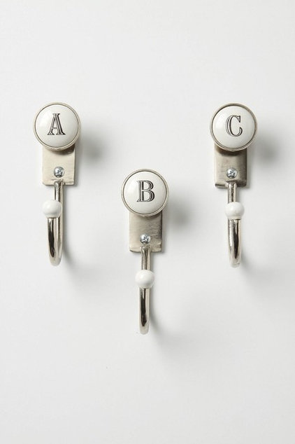 Contemporary Hooks And Hangers by Anthropologie