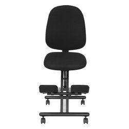 Flash Furniture - Flash Furniture Office Chairs Kneeling Chairs X-GG-8241-LW - This Posture Chair resembles the look of a conventional task chair. You'll be able to regain your body's natural posture with this ergonomic kneeling chair with included back. Kneeling chairs sit you in a position to allow your diaphragm to move efficiently and promote better breathing and blood circulation. Use as your permanent office chair or in conjunction with a conventional task or executive office chair. [WL-1428-GG]