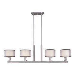 Maxim Lighting - Maxim Lighting 23039SWSN Orion 4-Light Pendant - Maxim Lighting 23039SWSN Orion 4-Light Pendant